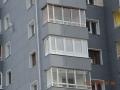 Теплый ПВХ-балкон и ламинированные окна