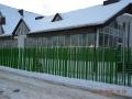 Остекление фасада частного дома